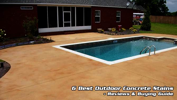 Best Outdoor Concrete Stain 2021 Top7