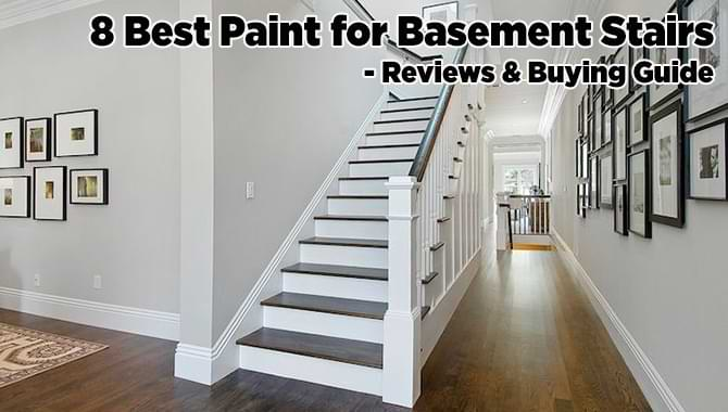 8 Best Paint For Basement Stairs 2021, Easiest Way To Paint Basement Stairwell