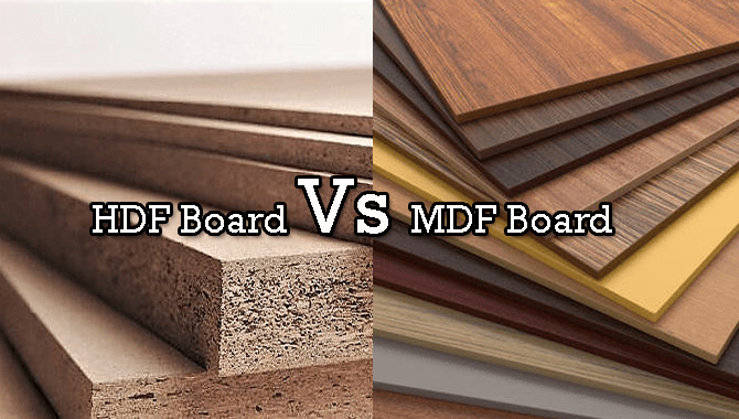 Hdf Vs Mdf Board Differences Which Is Better For Cabinets