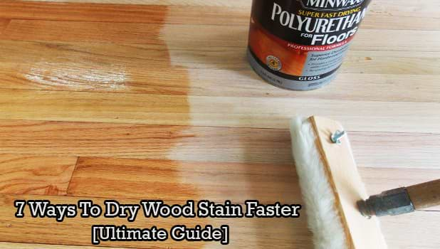 Dry Wood Stain Faster Oil Water
